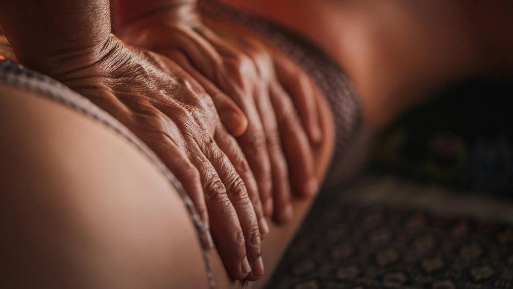 Klassische Massagegriffe